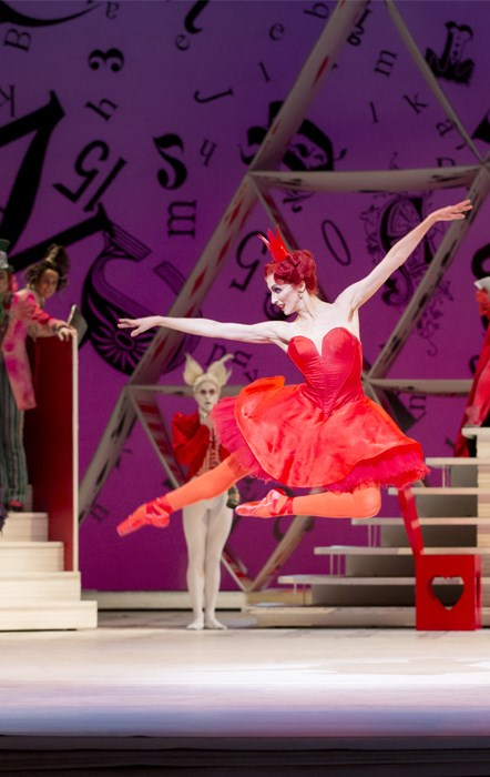 ROH Live ballet: Alice's Adventures in Wonderland