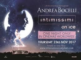 Intimissimi On Ice With Andrea Bocelli