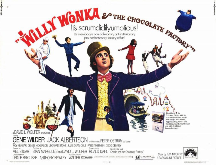 Willy Wonka and the Choclate Factory