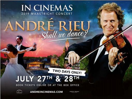 Andre Rieu 2019 Maastricht Concert:Shall We Dance