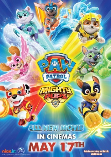 Paw Patrol: Mighty Pups, The Movie
